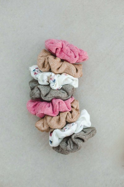 Solid Scrunchies