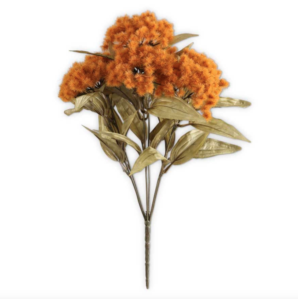 18 Inch Rust Fall Thistle Bush