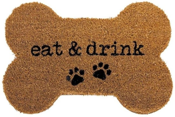 Eat & Drink Bone Shaped Mat