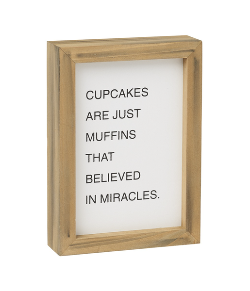 Muffin Miracles Sign