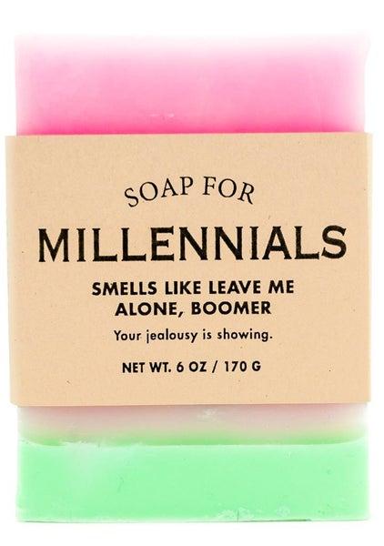 Soap for Gen X + Millennials