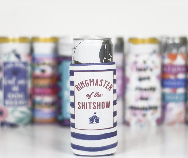 Ringmaster of the ShitShow Slim Can Cooler