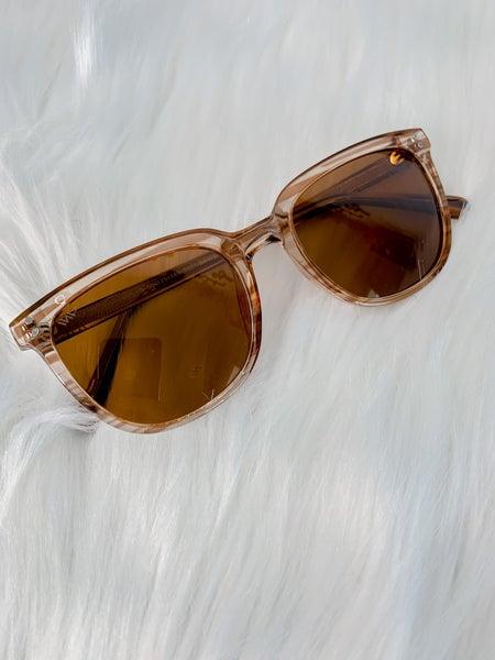 Brown Frame Brown Lens Womens Sunglasses