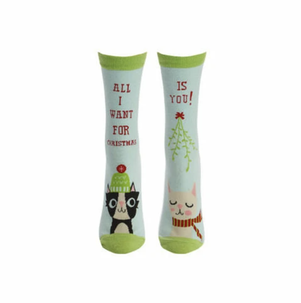 All I Want For Christmas (Women's Crew) Socks