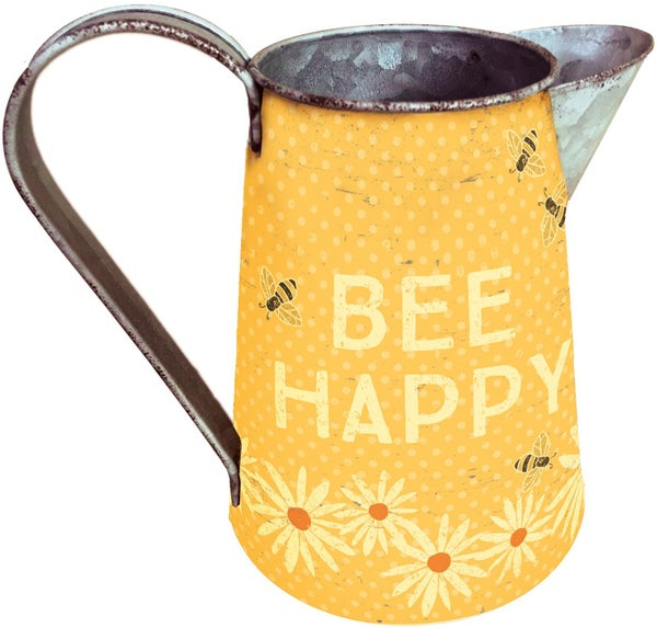 Bee Happy Pitcher