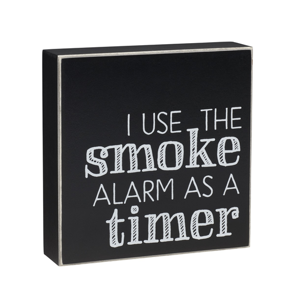 Smoke Alarm Box Sign