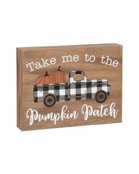 Take Me Truck Box Sign