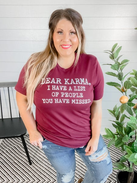 PLUS/REG Dear Karma