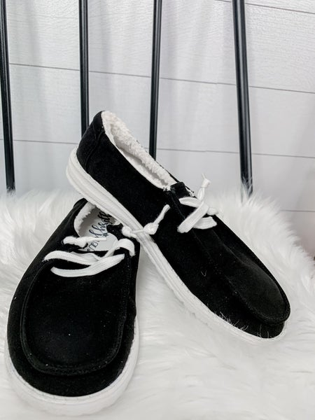 Black Harley Women's Shoes