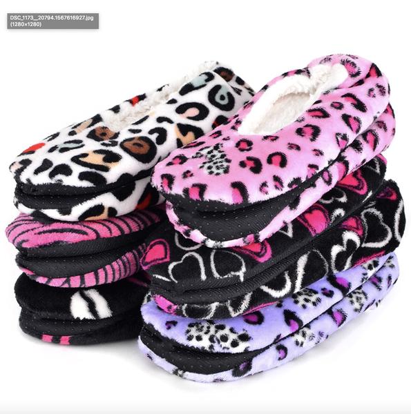 Warm & Cozy Indoor Non Slip Grip Slippers
