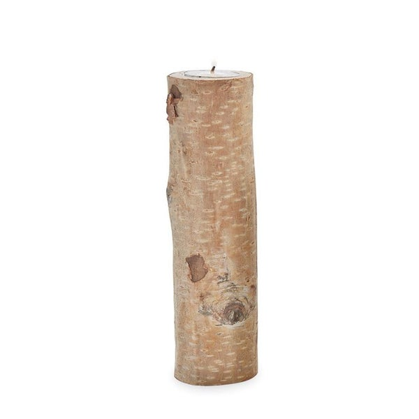 Large Birch Bark Tealight