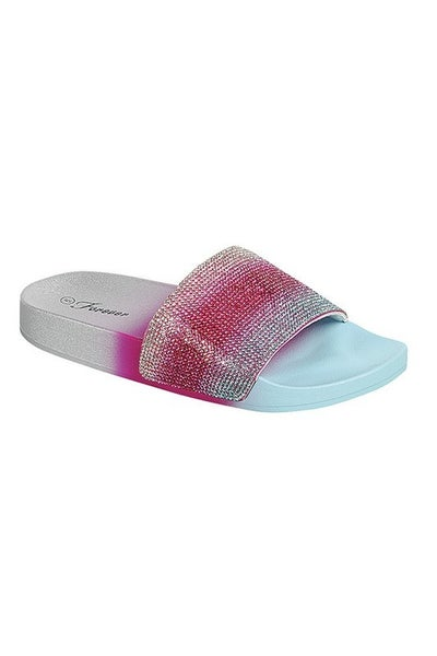 Rainbow Ombre Sandals