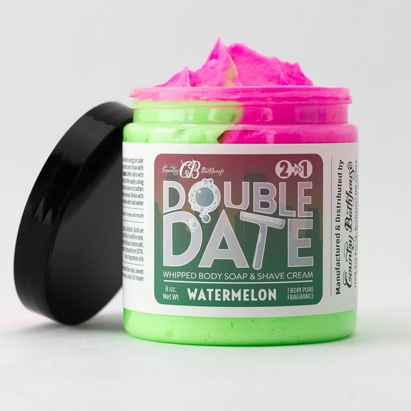 Double Date Whipped Soap + Shave (2 Scents)