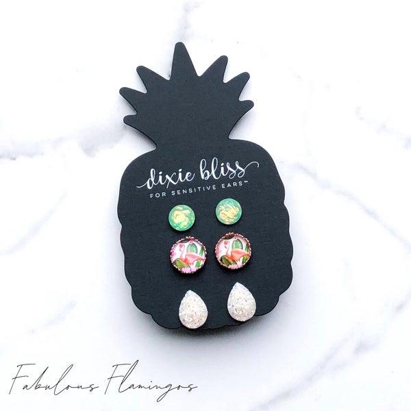Dixie Bliss Fabulous Flamingo Earrings *FINAL SALE*