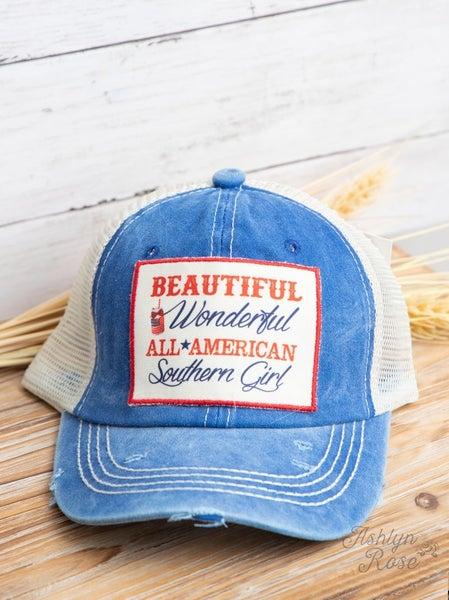 Beautiful Wonderful All American Youth Hat