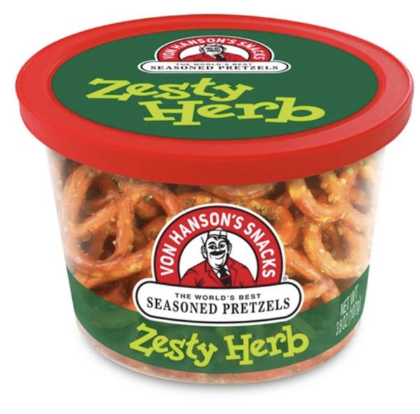 Delicious Seasoned Pretzels