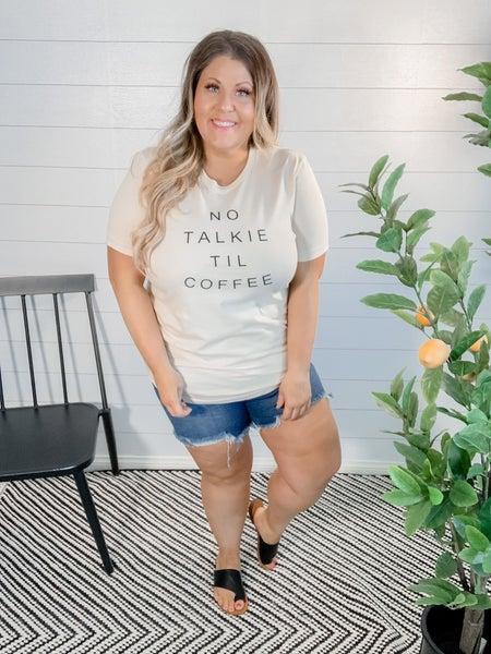 PLUS/REG No Talkie Till Coffee