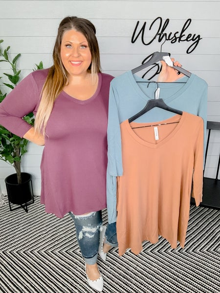 Flowy 3/4 Sleeve Tunic Two
