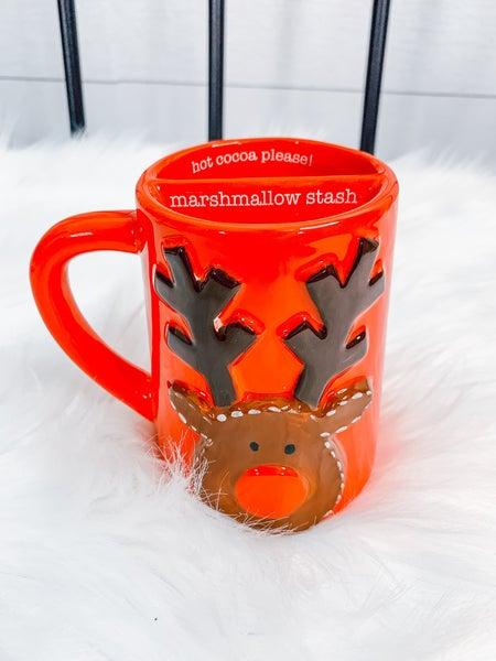 Reindeer Marshmallow Mugs