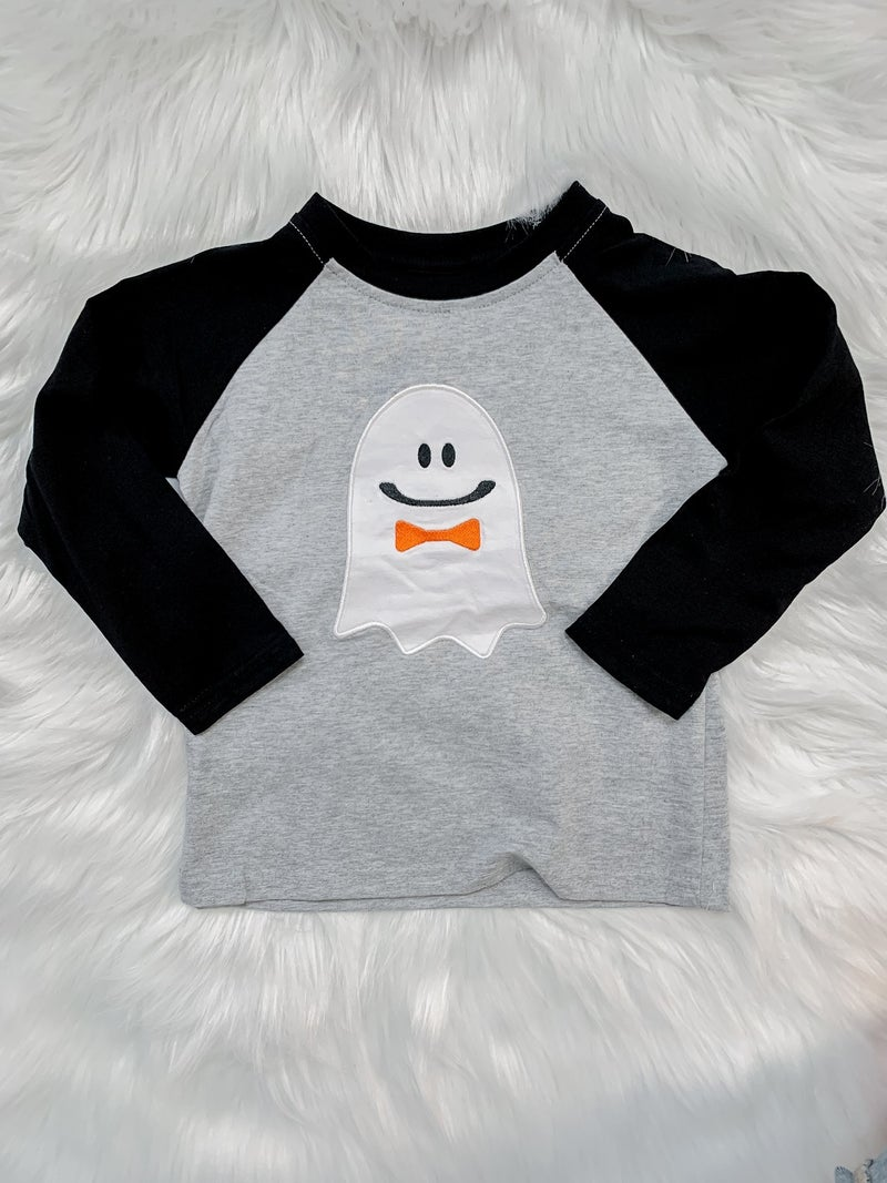 *FINAL SALE*YOUTH Happy Ghost Shirt - Boys
