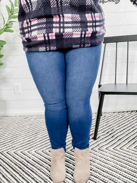 Judy Blue Thermal Skinny Jeans