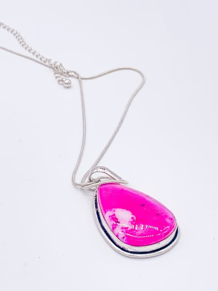Dendritic Opal Pendant Necklace