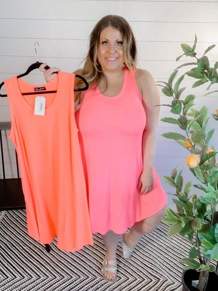 PLUS/REG Neon Dress