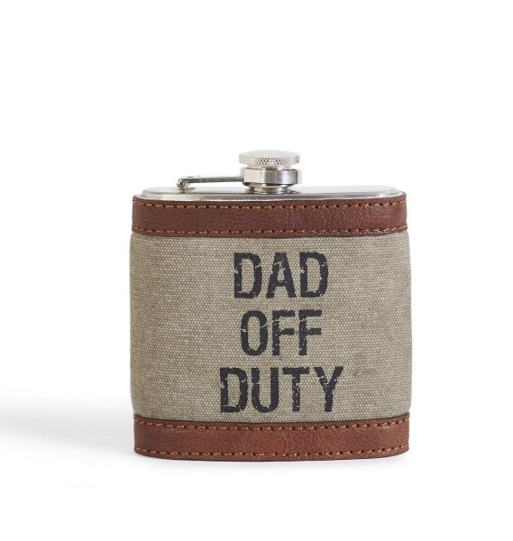 Dad Off Duty Flask