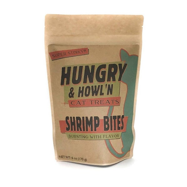 Shrimp Bites - Natural Holistic Cat Treats