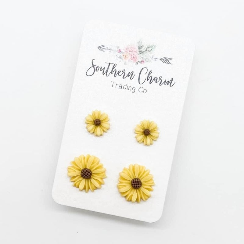 Yellow Sunflower Mommy and Me Set