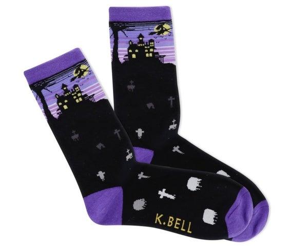 Halloween Night Crew Socks