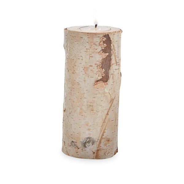 Medium Birch Bark Tealight