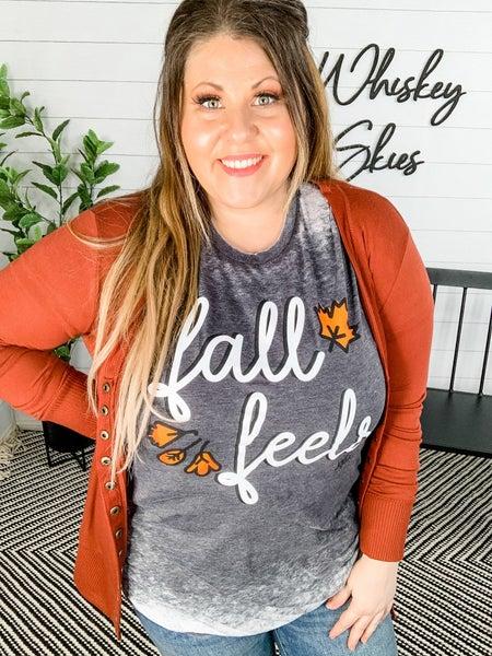 PLUS/REG Fall Feels Graphic Tee *FINAL SALE*