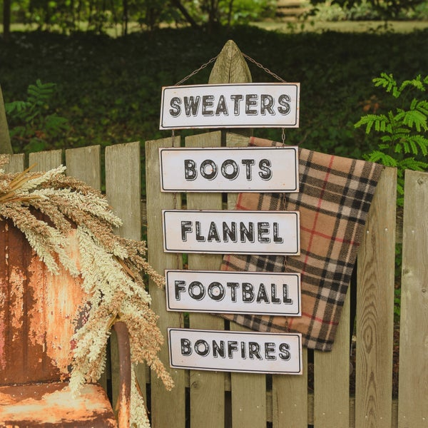 Sweaters Boots Metal Sign