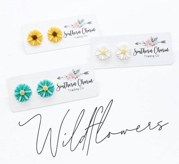 Wild Flower Earring Studs