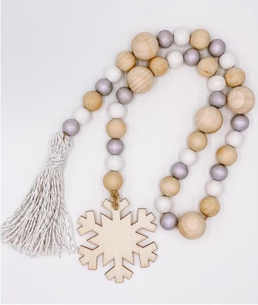 Christmas Bead Garland (3 Types)