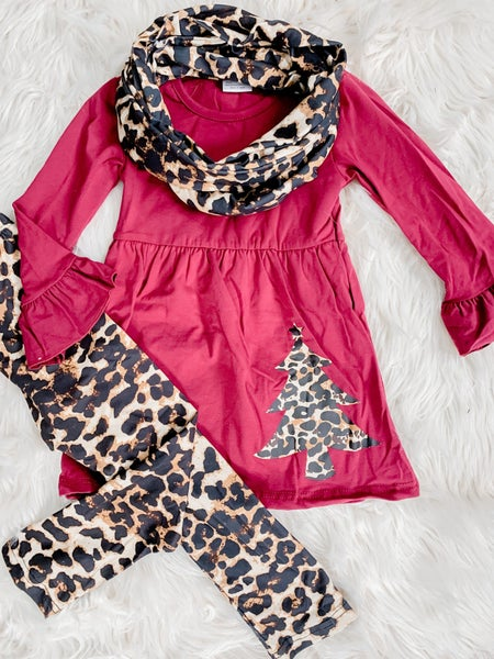 YOUTH Brick and Leopard Outfit *FINAL SALE*