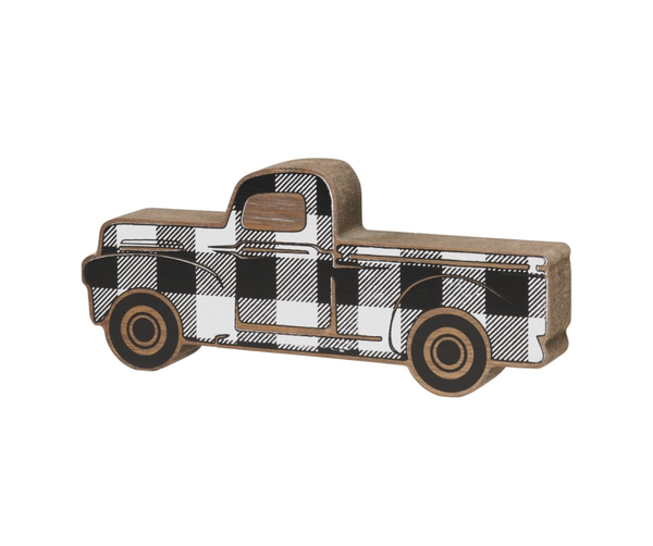 Small Buffalo Plaid Truck Cutout