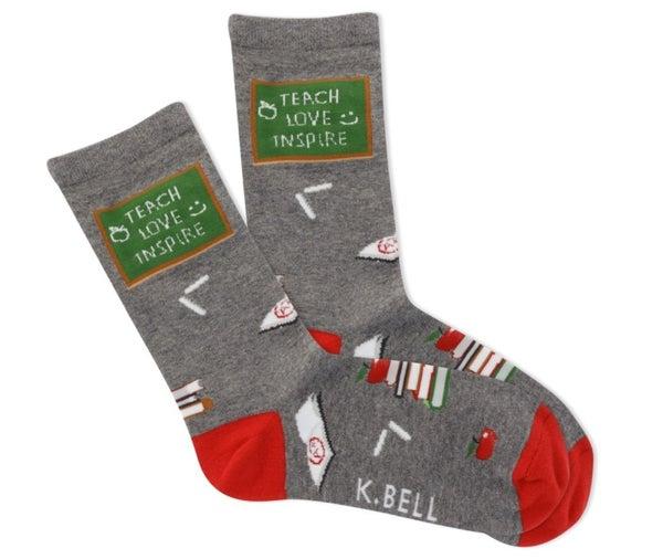 Women's Teach Love Inspire Socks