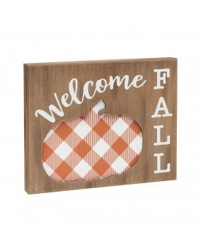 Welcome Fall Layered Sign *FINAL SALE*
