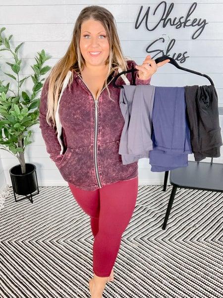 PLUS/REG Capri Yoga Pants With Pockets