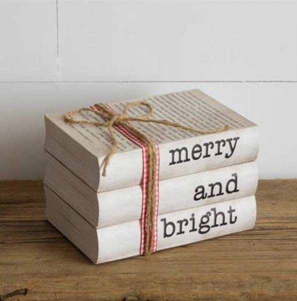 Merry And Bright Stamped Books