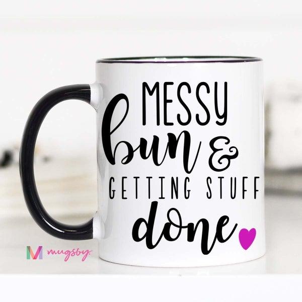Messy Bun Mug
