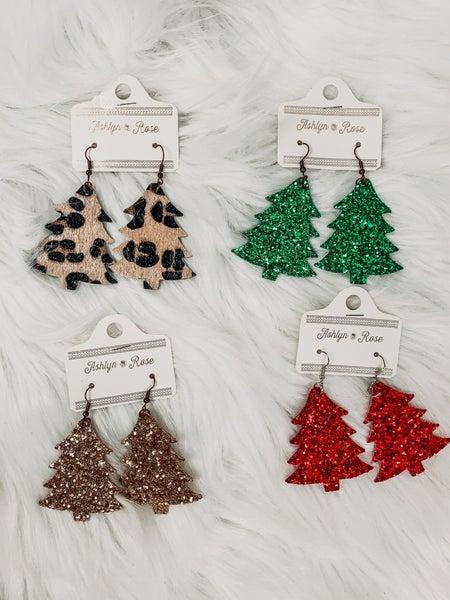 Happiest Christmas Tree Earrings