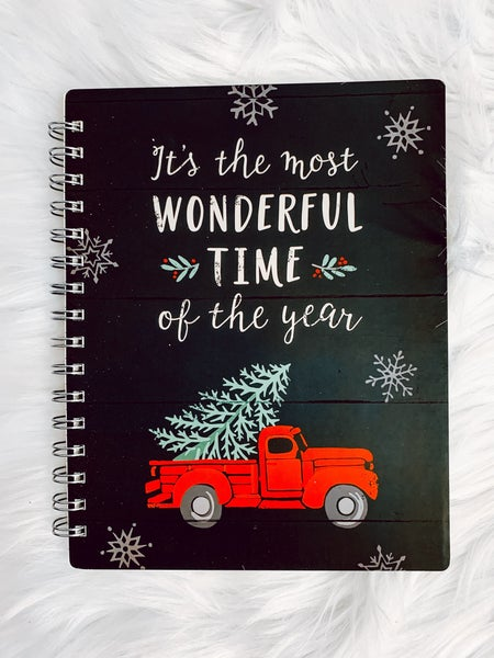Wonderful Truck Spiral Notebook
