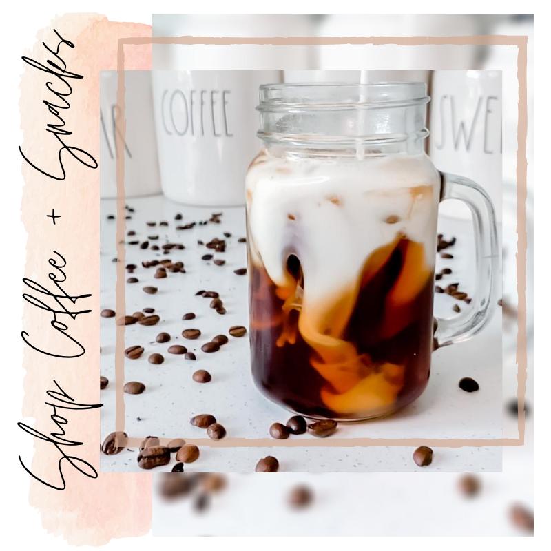 Shop Coffee + Snacks