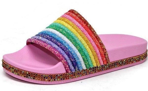 Rainbow Slide Sandals *FINAL SALE*
