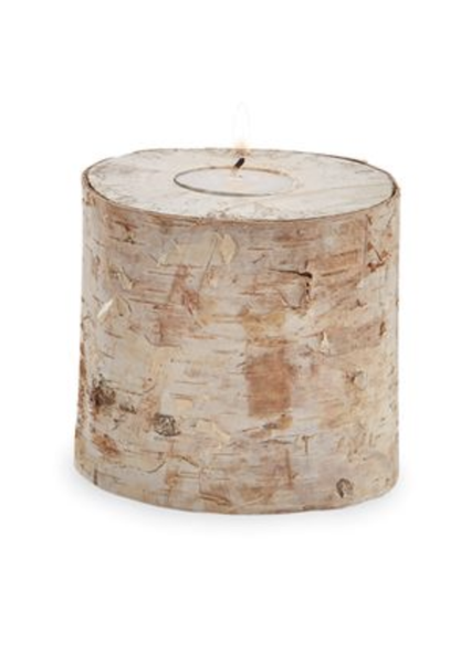 Small Birch Bark Tealight
