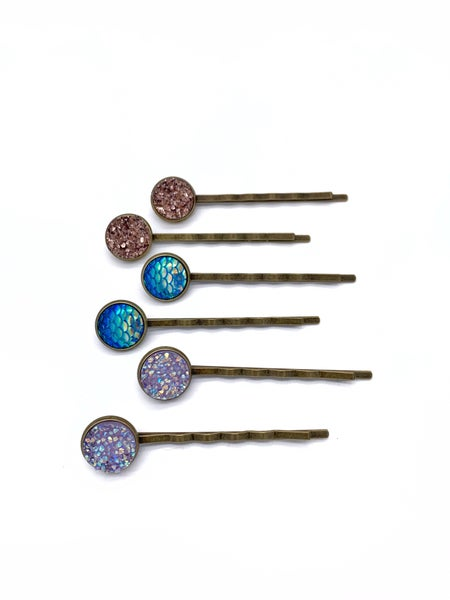 Non-Slip Bobby Pins (Multiple Colors)
