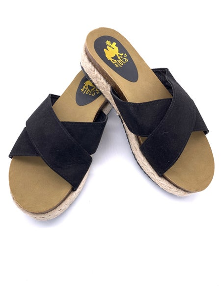 Abra Sandals (Wide Fit)